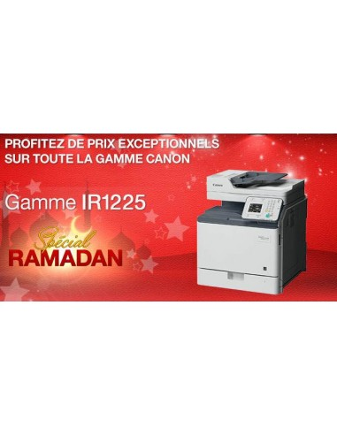 Promo Canon Copieur IRC1225IF Réseau Laser Couleur
