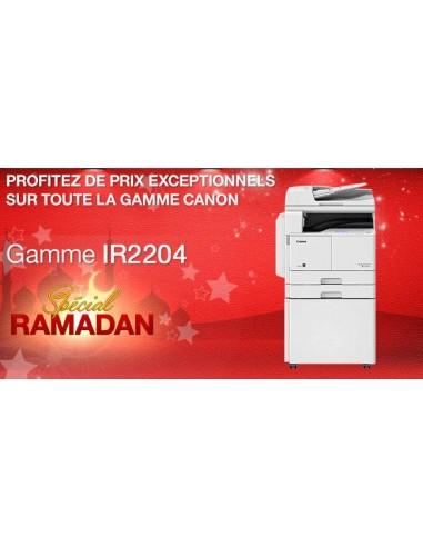 Promo Canon Copieur IR2204 Laser Mono A3 RectoVers