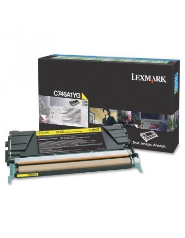 Lexmark C746A1YG Cartouche 7000pages Jaune cartouche toner et laser