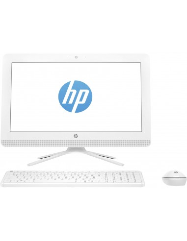 """HP 20 -c002nk 3.7GHz i3-6100 19.5"""" 1600 x 900pixels Blanc PC All-in-One"""