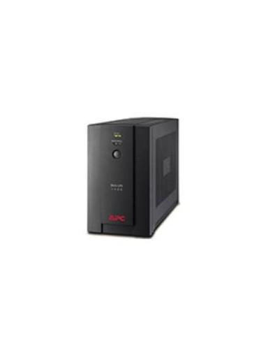 APC BX1400U-FR Interactivité de ligne 1400VA 4AC outlet(s) Noir alimentation d'énergie non interruptible