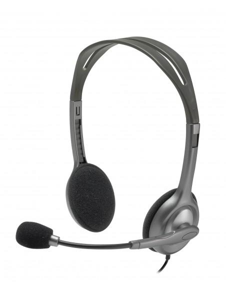 Logitech H111 Binaural Bandeau Gris Casque audio