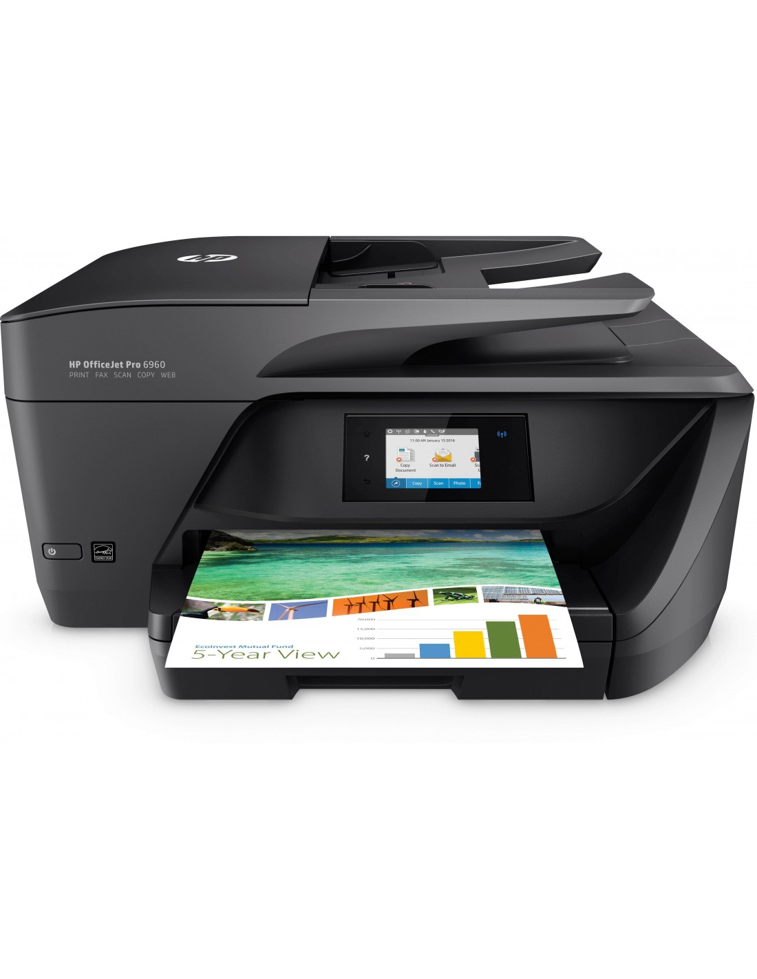 hp officejet imprimante tout en un pro 6960. Black Bedroom Furniture Sets. Home Design Ideas