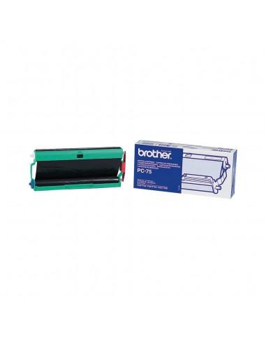 Brother PC-75 Fax cartridge + ribbon 144pages Noir 1pièce(s) consommable pour télécopieur