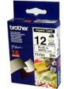 Brother Fabric Labelling Tape - 12mm, Blue White TZ ruban d'étiquette