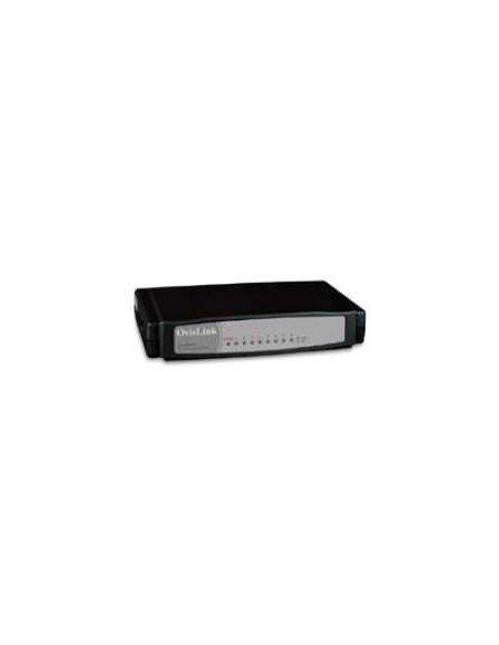 OvisLink EVO-FSH8C Non-géré Noir commutateur réseau