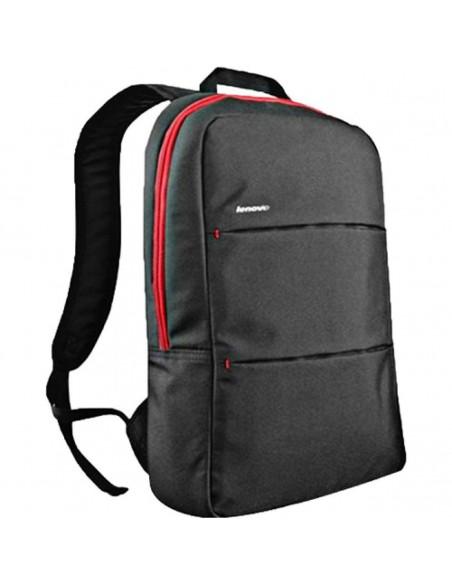"""Lenovo 888016261 15.6"""" Sac à dos Noir, Rouge sacoche d'ordinateurs portables"""