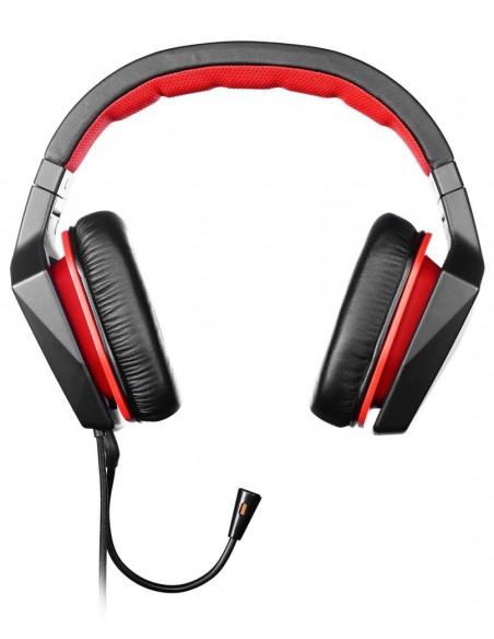 Lenovo GXD0J16085 Binaural Bandeau Noir, Rouge Casque audio