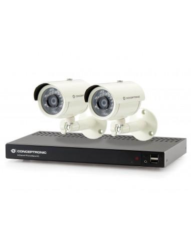 Conceptronic Kit de surveillance IP 8 canaux