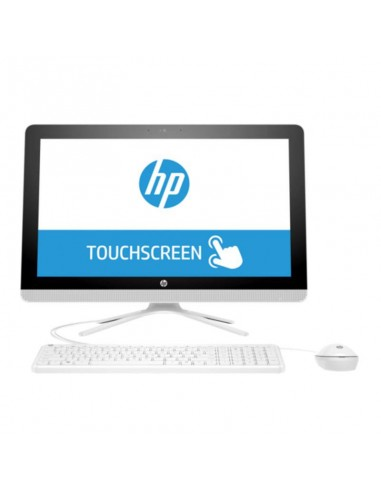 "HP 22 AIO i3-6100U 4GB 1TB Windows 10 21.5"" Touch White (X0V33EA)"