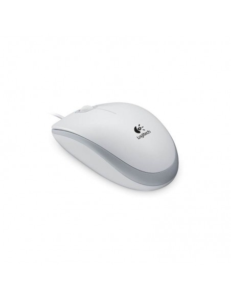 LOGITECH Corded Mouse M100 (Mouton) White (910-001603)