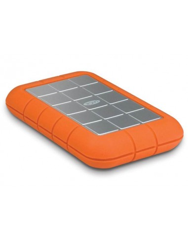 LaCie Rugged Triple USB 3.0, 2TB 2000Go Aluminium,Orange disque dur externe