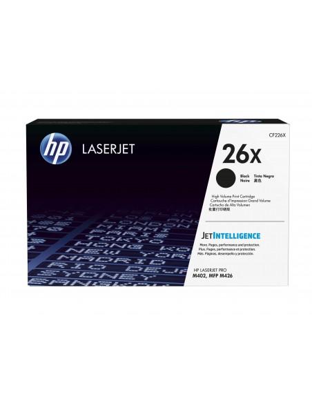 HP 26X toner LaserJet noir grande capacité authentique