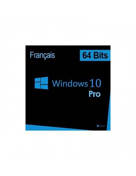 MS Win Pro 10 64Bit French 1pk DSP OEI DVD (FQC-08920)