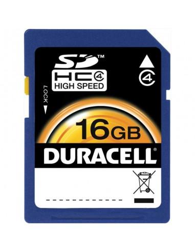 DURACELL Carte Micro SD CL4 16GB (DU-SD-16GB-R)