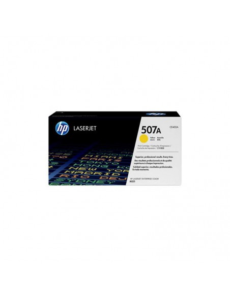 HP 507A toner LaserJet jaune authentique