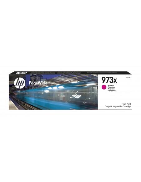 HP 973X cartouche PageWide Magenta grande capacité authentique