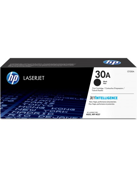 HP Cartouche de toner noir originale 30A LaserJet