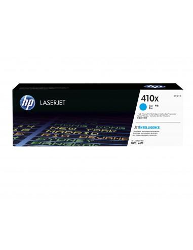 HP 410X toner LaserJet cyan grande capacité authentique