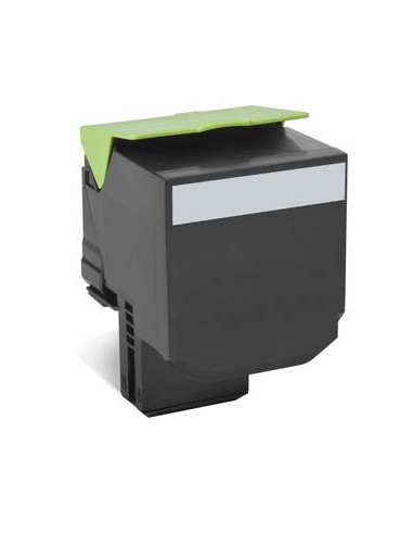 Lexmark 80C8XK0 8000pages Noir cartouche toner et laser