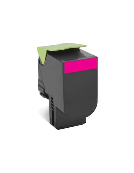 Lexmark 80C8XM0 4000pages Magenta cartouche toner et laser