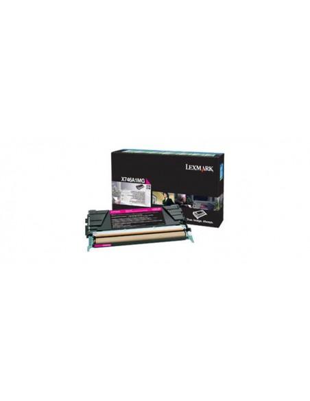 Lexmark X746A1MG Toner laser 7000pages Magenta cartouche toner et laser