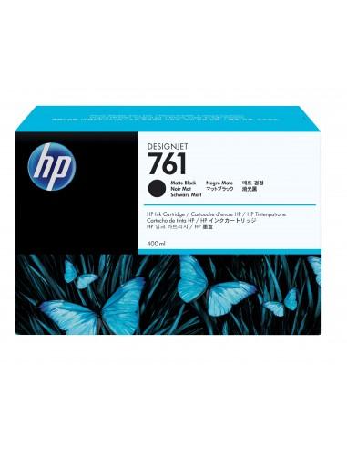 HP 761 cartouche d'encre DesignJet noir mat, 400 ml