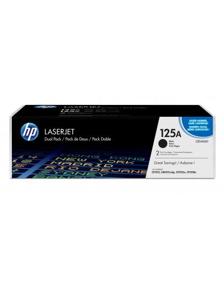 HP 125A pack de 2 toners LaserJet noir authentiques