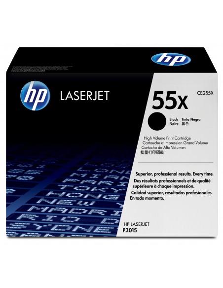 HP 55X toner LaserJet noir grande capacité authentique