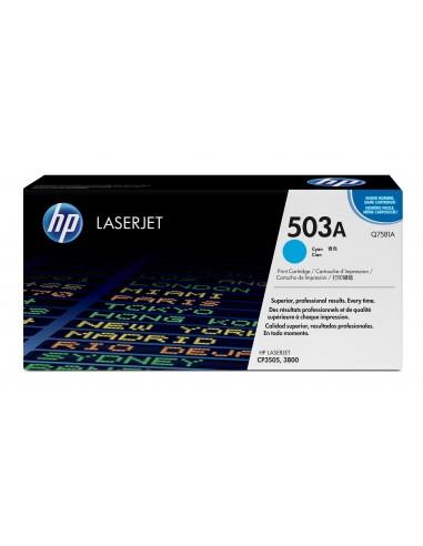 HP 503A toner LaserJet cyan authentique