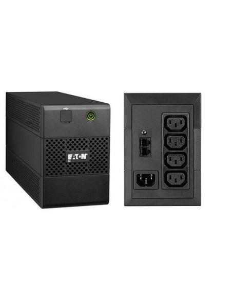 Eaton 5E650iUSB Interactivité de ligne 650VA 4AC outlet(s) Tour Noir alimentation d'énergie non interruptible