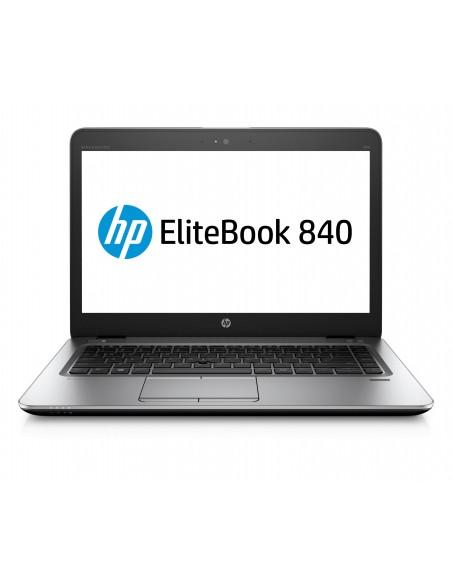 """HP EliteBook 840 G4 2.70GHz i7-7500U 14"""" 1920 x 1080pixels Noir, Argent Ordinateur portable"""