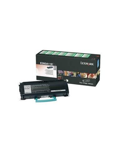 Lexmark E260A11E Laser cartridge 3500pages Noir cartouche toner et laser