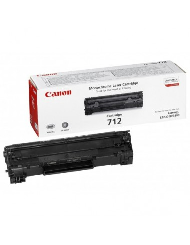CANON Cartridge 712 (yield  1500* pages)