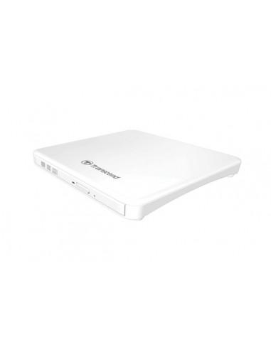 Transcend lecteur DVD Slim type, USB, white