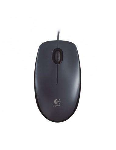 LOGITECH Mouse M90 (Mouton-Boat) Noire (910-001793)