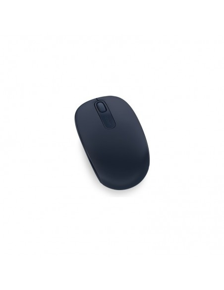 Microsoft Wireless Mobile Mouse 1850 RF Sans fil + USB Ambidextre Marine souris