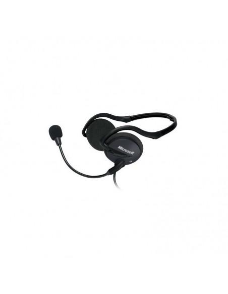 Microsoft LifeChat LX-2000 Binaural Minerve Noir Casque audio