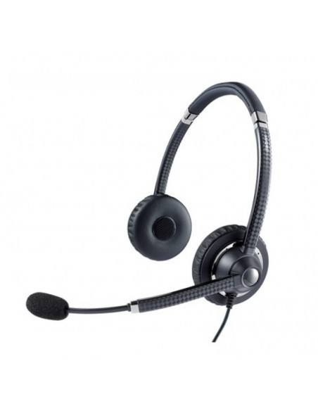 Jabra UC Voice 750 MS Duo Dark Binaural Bandeau Noir Casque audio